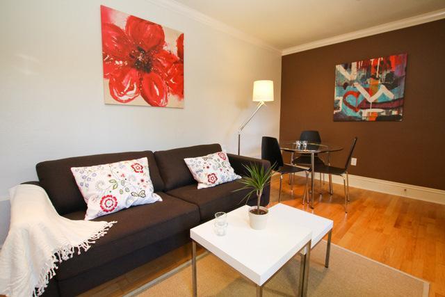 Living room - Comfortable Mission - San Francisco - rentals