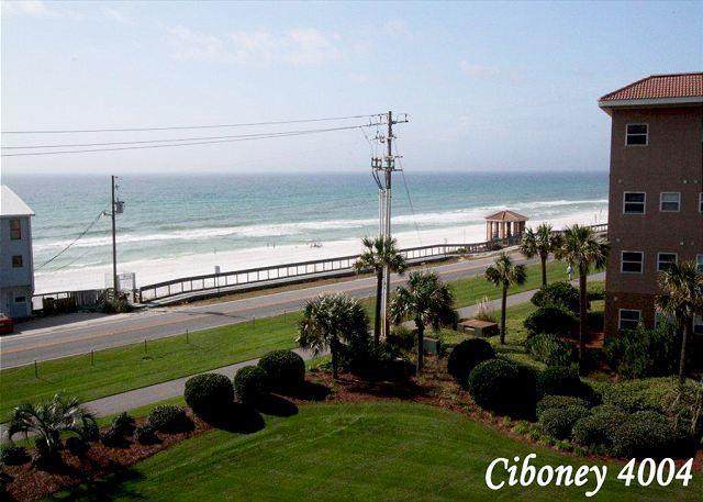 view - Ciboney 4004 fourth floor with gulf views! - Miramar Beach - rentals