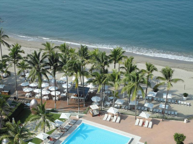 VIEW FROM THE BALCONY 15TH FLOOR - AVAIL JAN & MARCH ICON VALLARTA LUXURY Ocean Front - Puerto Vallarta - rentals