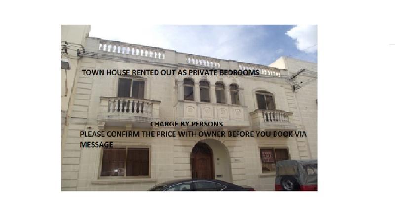 Town House in Qormi-Rented per person - Image 1 - Qormi - rentals