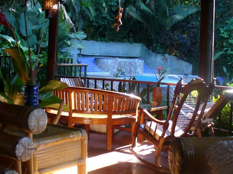 Jungle view from everywhere in the villa - Very private oceanview Jungle Suite. Enjoy nature - Manuel Antonio National Park - rentals