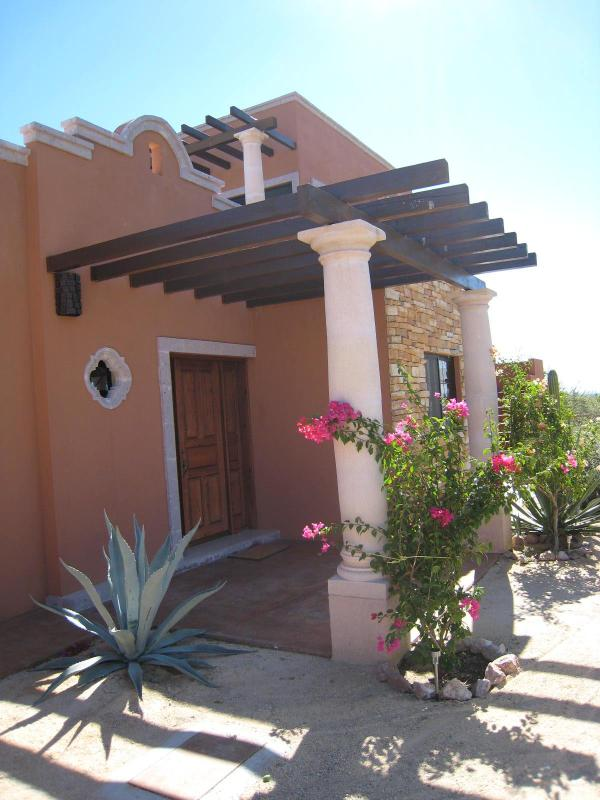 front entrance - Overlooking the Sea of Cortez in El Sargento - La Ventana - rentals
