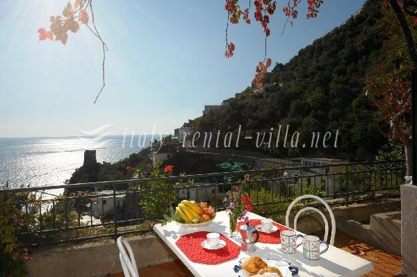 the terrace - Villa Adalgisa on the rock - Praiano - rentals