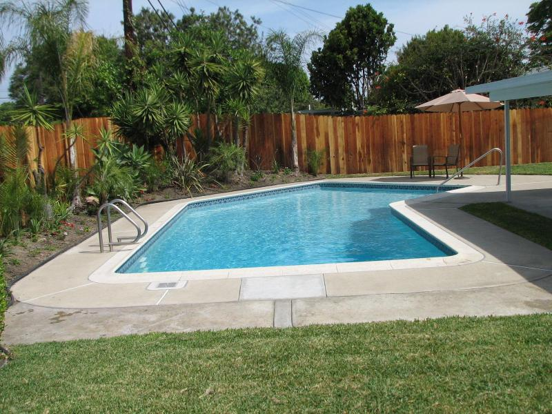 Private Heated Swimming Pool with Safety Fence (not pictured) - King's Vacation Rental - Anaheim - rentals