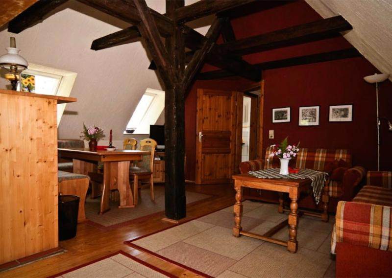 Living Room (1) - LLAG Luxury Vacation Apartment in Meissen - 915 sqft, well-kept, in an optimal location, central next… - Meissen - rentals