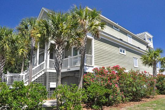 Front Exterior - Luxurious 6 Bd, 6.5 Ba Oceanfront, Pool/Spa! - Isle of Palms - rentals