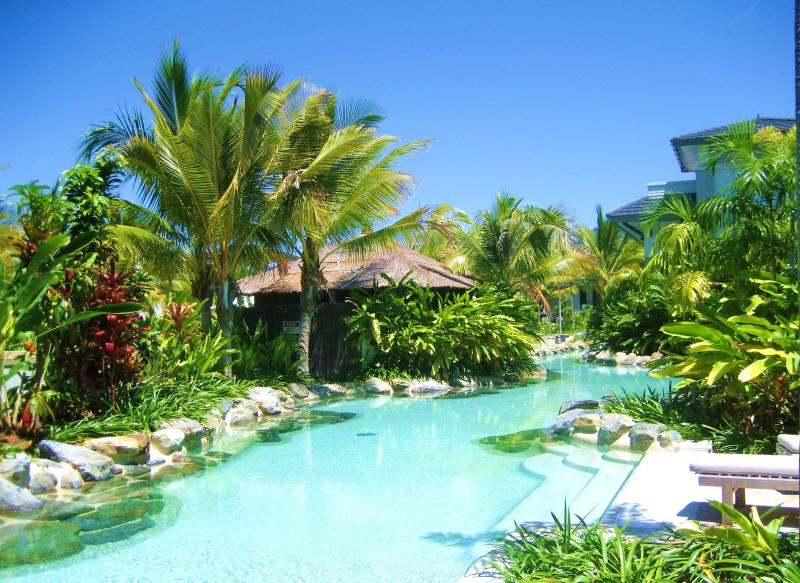 Here's the view from the rear of our apartment - Sea Temple Swimout in Pullman(tm) Resort Port Doug - Port Douglas - rentals