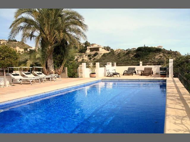 Private Pool area - Villa for large families or group of friends - Costa Blanca - rentals