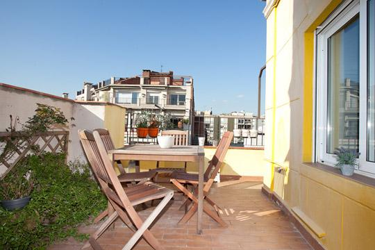 City Terrace *** Cocoon Central (BARCELONA) - Image 1 - Barcelona - rentals