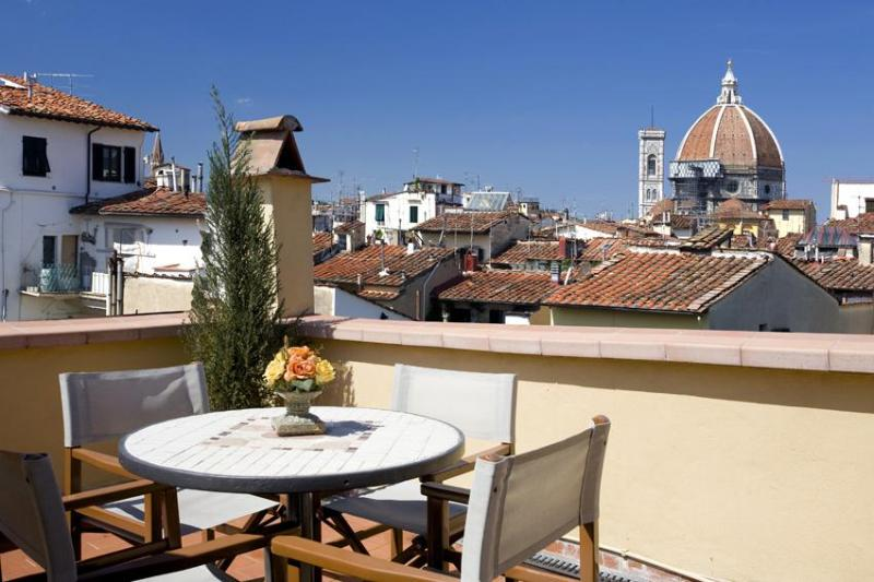Terrace view - Apartment in Florence with panoramic terrace - Florence - rentals