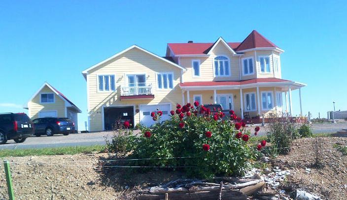 View from the Lagoon - Ô PIER EAU BERESFORD-sur-mer NEW BRUNSWICK E8K 1W2 - New Brunswick - rentals