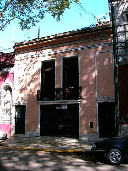 Front of house - Town House in Palermo - Buenos Aires - rentals