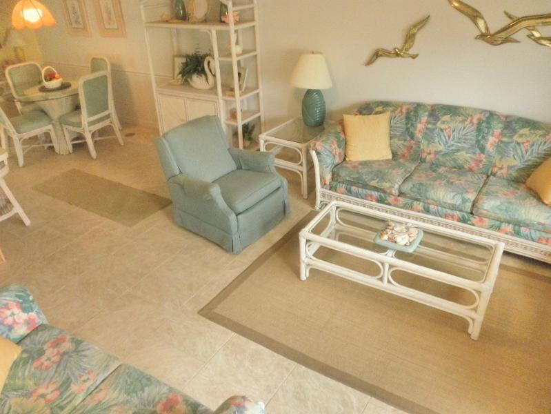 Rental Home with 2 Bedrooms, Balcony, and Gulf Front Pool - Image 1 - Panama City Beach - rentals