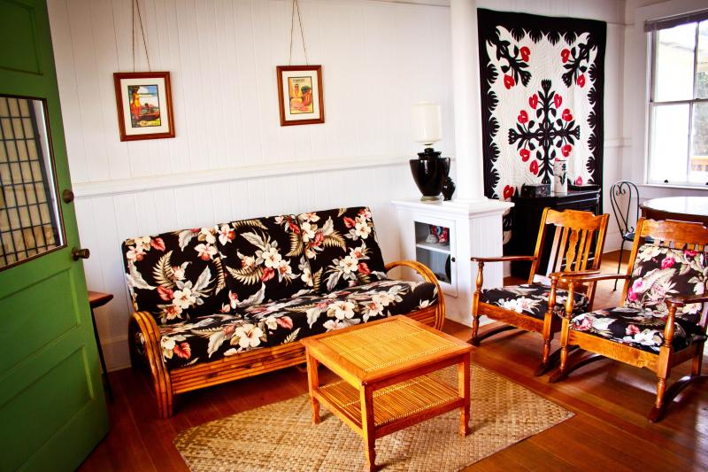 Restored Plantation House - Image 1 - Pahala - rentals