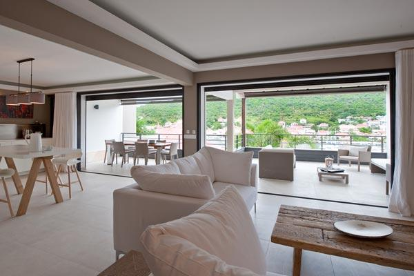 Upscale modern apartment with views of Gustavia harbor WV JNM3 - Image 1 - Gustavia - rentals