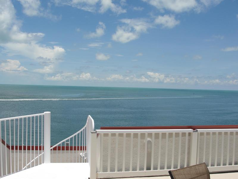View from roof deck - Luxury Home with Pool, Hot Tub, and 50' Dock - Marathon - rentals