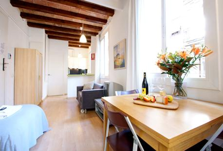 Barceloneta Beach Studio D - Image 1 - Barcelona - rentals