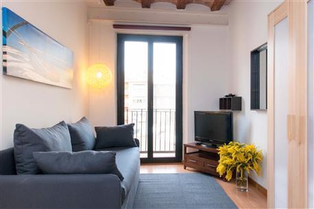 Liceu Loft Studio F2 - Image 1 - Barcelona - rentals