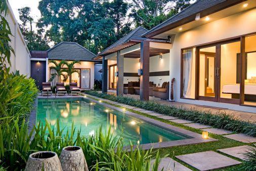 Villa and pool - Villa Angel Seminyak - 3 bdr accommodation in bali - Seminyak - rentals