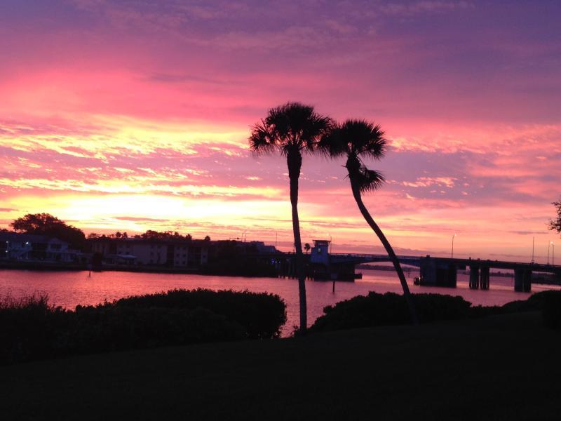 Sunrise from the porch - Siesta Key Paradise - Siesta Key - rentals