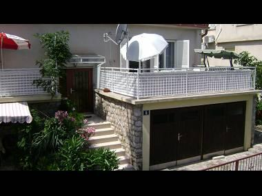 A1(2+2): terrace - 4981  A1(2+2) - Jelsa - Jelsa - rentals