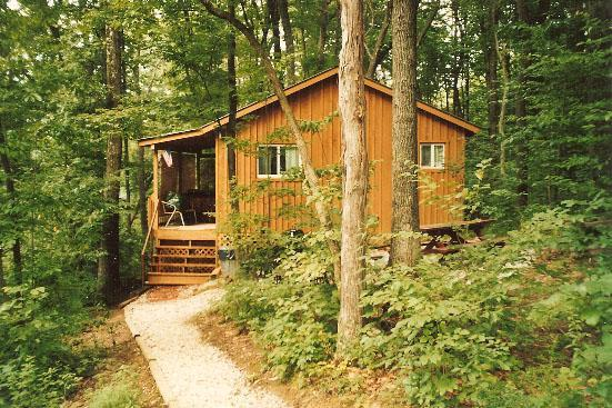 Castaway Cabin in Private Wooded Setting - Castaway Cabin Vacation Cabin Hocking Hills Ohio - Logan - rentals