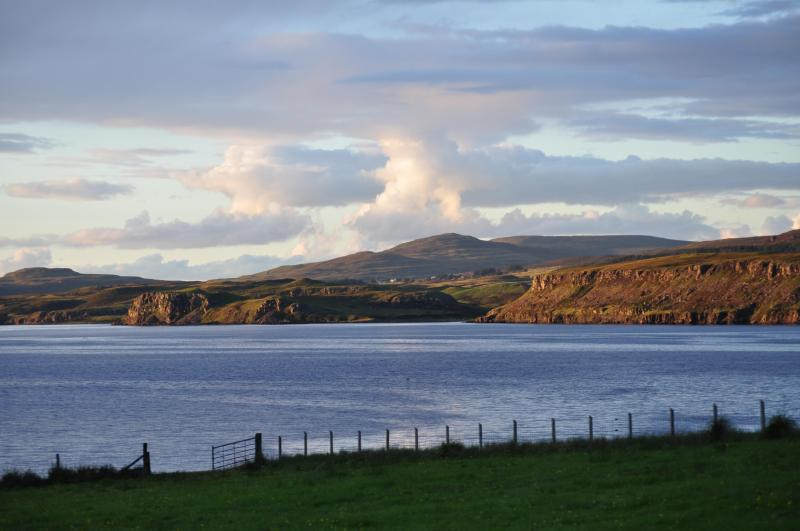 View from Studio - Quality Studio  with idyllic views over sea loch - Portree - rentals
