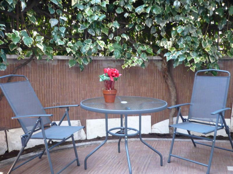 Apartment private patio with romantic garden - Unforgettable Vatican nest with private garden - Rome - rentals