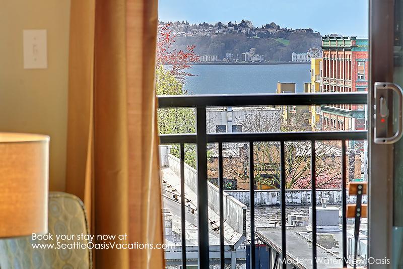 1 Bedroom Modern Water View Oasis - Image 1 - Seattle - rentals