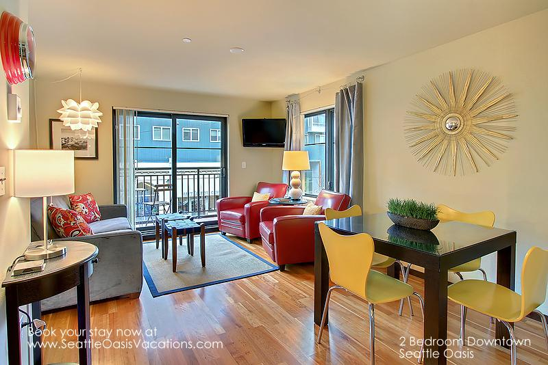2 Bedroom Downtown Seattle Oasis - Image 1 - Seattle - rentals