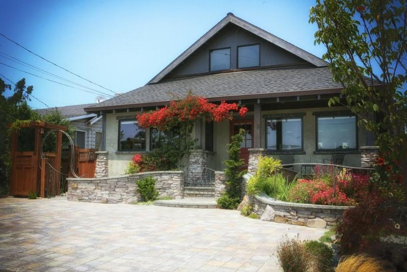 Front View of Home - East Cliff Beach Oasis- Santa Cruz Vacation House - Santa Cruz - rentals