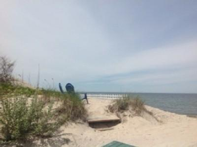 1BR Real Beach House on the Sand North Fork Wineries kayak weekend getaway Romantic - Image 1 - Wading River - rentals