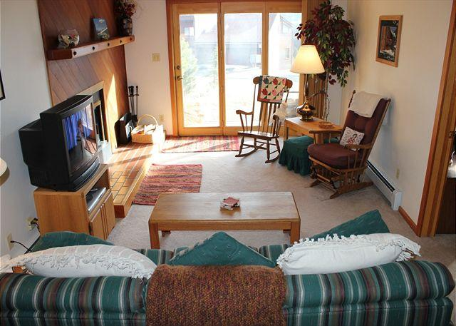 SS300 Attractive Condo w/Fireplace, Clubhouse, Wifi - Image 1 - Silverthorne - rentals