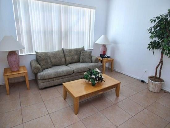 Living Area - HR5P646BS 5 Bedroom Vacation Villa Inspired by A View - Orlando - rentals