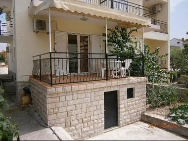 A2(2+2): terrace - 5010 A2(2+2) - Biograd - Biograd - rentals