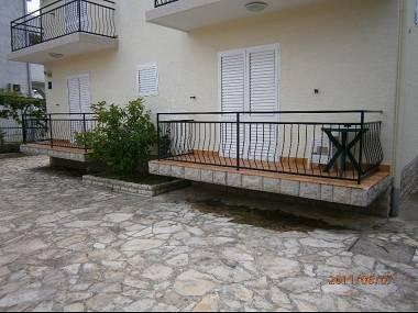 A1(3+1): terrace - 5010 A1(3+1) - Biograd - Biograd - rentals
