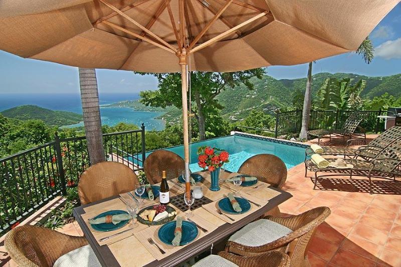 Villa Carolina - HUGE panoramic postcard views! - Image 1 - Coral Bay - rentals