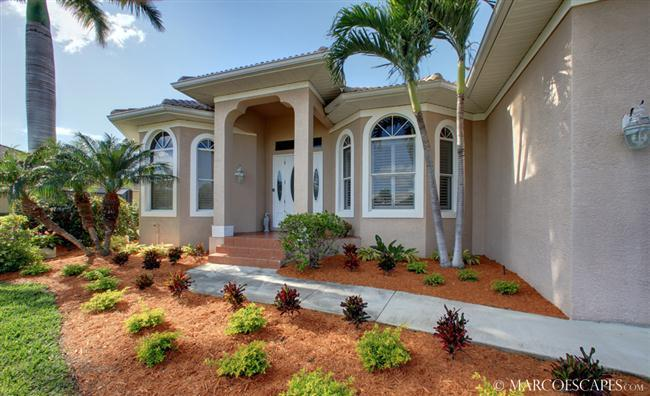 CAMELLIA - Southern Exposure Waterfront Escape with European Flare!! - Image 1 - Marco Island - rentals