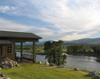 Point of View on the Yellowstone River - Point of View overlooking the Yellowstone River - Pray - rentals