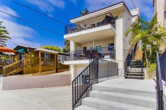 Front view of the condo. - Gaby's La Jolla Beach Getaway - 3 Bedroom / 3 Bath, Sleeps 10 - Pacific Beach - rentals