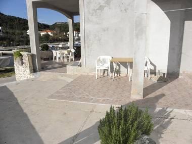 A2(2+2): terrace - 5020 A2(2+2) - Lukoran - Lukoran - rentals