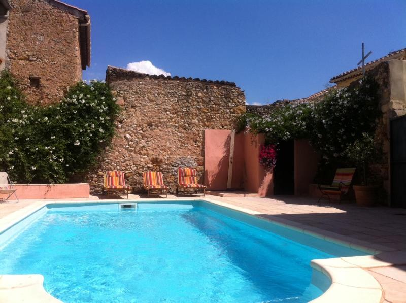 Pool Maison Cruzy - Tasteful spacious house with pool South of France - Cruzy - rentals