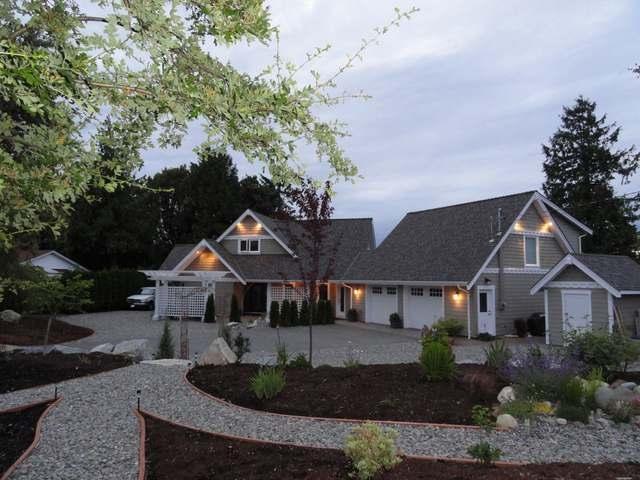 Front of House - Oceanfront/ Fabulous Views/Sunrise/ Eagles - Parksville - rentals