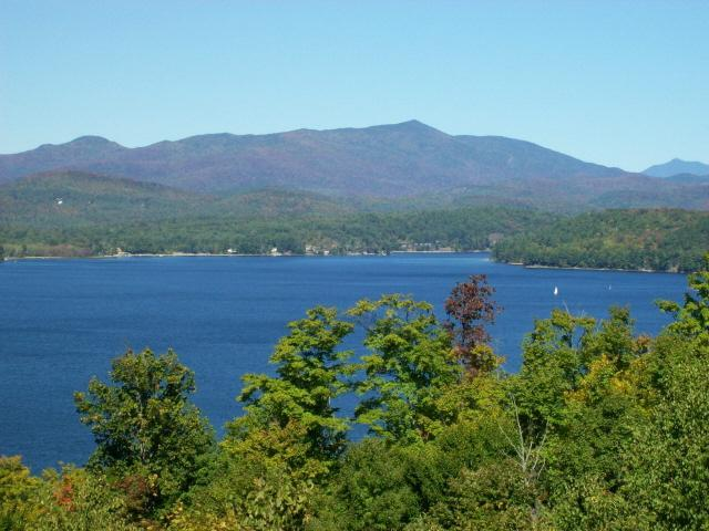 The view from every room in the house!  Breathe in the clean Adirondack air as you gaze at the Lake! - Schroon Lake Retreat - Adirondack Luxury Home 8-10 - Adirondack - rentals