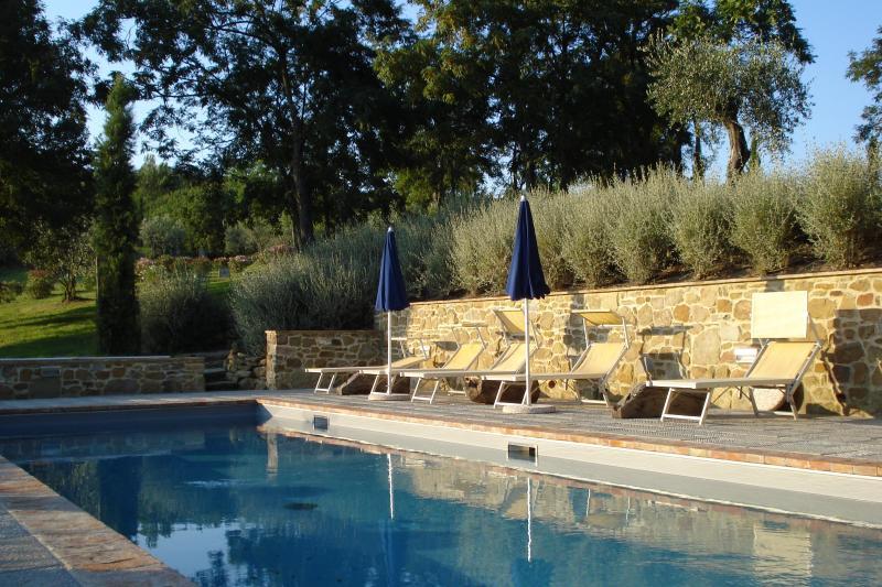 private pool - Villa Caccianello, private pool in Tuscany Italy - Pergine Valdarno - rentals