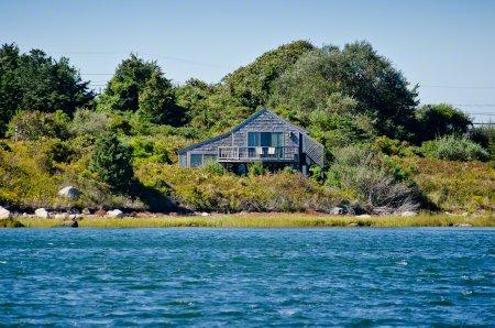 THE BOATHOUSE ON STONEWALL POND - CHIL RALD-138B - Image 1 - Chilmark - rentals