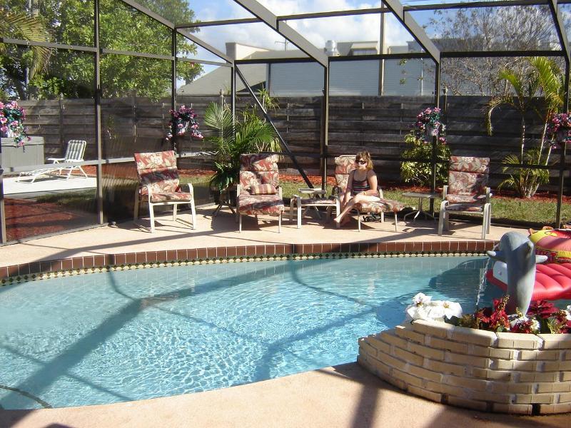 Heated Swimming Pool - The Palms - 3 Bed / 3 Bath, Pool,Hot Tub, Game Rm - Bradenton - rentals