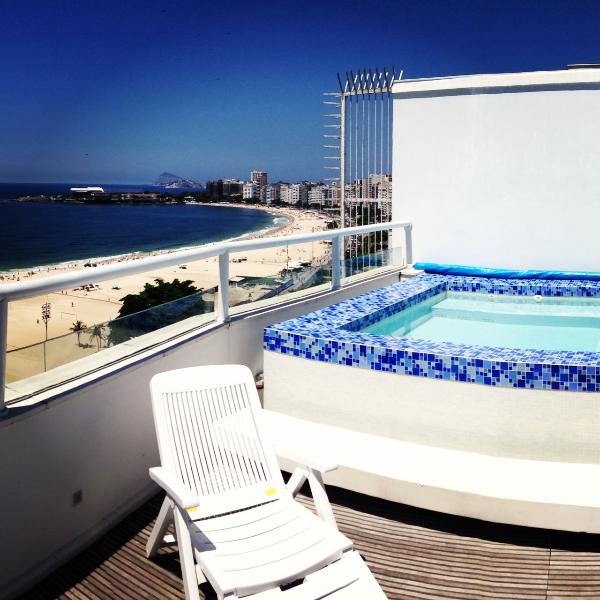 Penthouse Ocean Front Copacabana 3 Suites - Image 1 - Rio de Janeiro - rentals