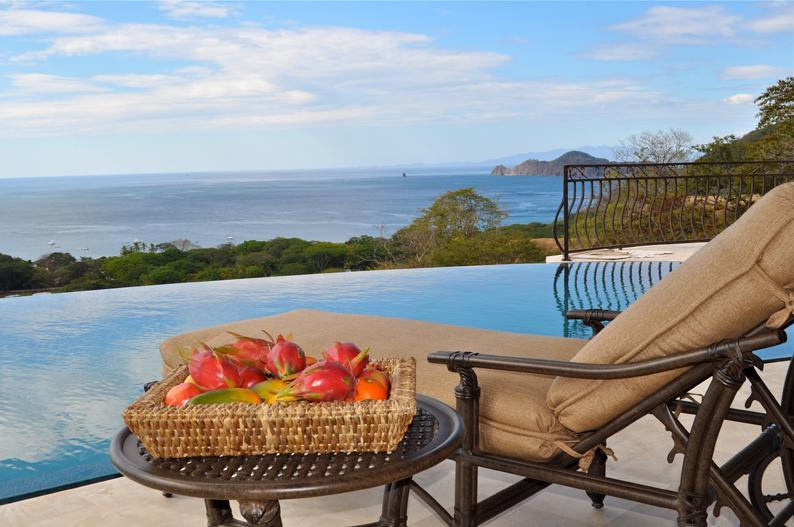 Infinity Pool and Gulf of Papagayo - Luxurious Ocean View 5 Bedroom with Breakfast Incl - Playa Hermosa - rentals