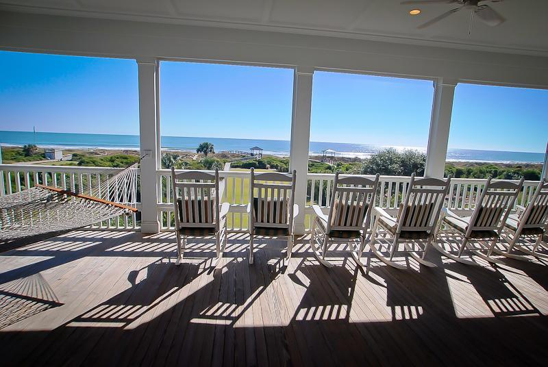 Screened Porch - Spacious Ocean Front, 6bd, 6ba w/Screened Porches! - Isle of Palms - rentals